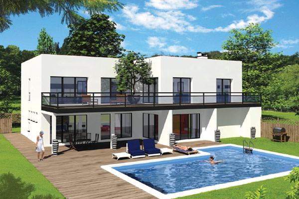 ligne trabeco une marque connue et reconnue maisons sercpi. Black Bedroom Furniture Sets. Home Design Ideas